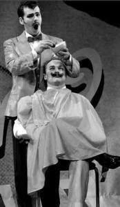 «Севильский цирюльник» по-чаплински