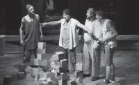 """И как феникс из пепла... """"Игра в кубики"""" в Театре на Юго-Западе"""